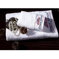Quality Professional 16S Super Soft Towels , White Cotton Towels Anti Bacteria ZE-FT-07 for sale