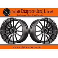 Wholesale 20inch Gloss black machined face 1-PC forged wheels from china suppliers