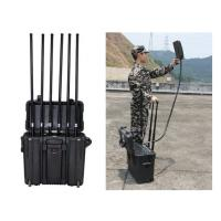 Buy cheap High Power Long Range Drone Signal Jammer For Home With GPS 2.4G / 5.8G Jamming from wholesalers