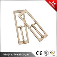 Wholesale MH factory custom double square pin belt buckle , metal belt buckle blanks from china suppliers