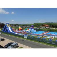 Wholesale Inflatable Open Water Park Projects , Inflatable Mobile Water Park Equipment from china suppliers