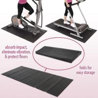 Wholesale Comfort Non Toxic Treadmill Floor Mat Under Exercise Equipment , Custom Printed from china suppliers