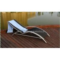 Wholesale Portable Metal Folding Beach Chair, Reclining Sun Lounger Outdoor Furniture from china suppliers