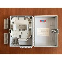 Wholesale FTTH wall mounted Fiber Optic Distribution Box with 1x8  lgx splitter from china suppliers