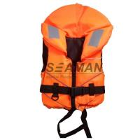 Wholesale Orange Rescue Water Sport Life Jacket 100N CE Certificate Nylon EPE foam from china suppliers