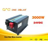Wholesale Off grid single phase dc to ac 24v 110v 3000watt pure sine wave power inverter from china suppliers