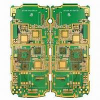 Buy cheap Eight Layers Rigid Multilayer PCB with Immersion Gold Surface Finish from wholesalers