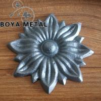 Quality Ornamental Cast Iron Flowers and Leaves for sale