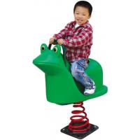 Wholesale plastic frog spring rider outdoor play rocking horse for yard from china suppliers