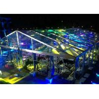 Wholesale Fire / Water Proof Transparent Tent Fabric Clear Event Tents 20m * 50m from china suppliers