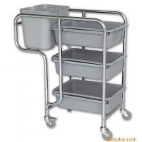 Wholesale Customized Collapsible Bucket Stainless Steel Serving Cart With 3 Tier from china suppliers