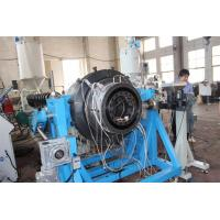 Wholesale Stainless Steel PE Plastic Pipe Extrusion Machine Plastic Extruders Of Two Layers from china suppliers