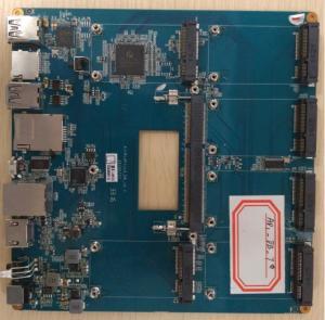 Quality Intel Z8300 Cherry Trail Mini PC Motherboard Windows 10 Mini PC Board for sale