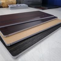 Wholesale Fireproof Core Wood Grain Aluminum Composite Panel For Room Decoration from china suppliers