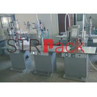 Wholesale Semi-automatic Aerosol Filling Machine for Pesticide , Car Care and Air Freshener Aerosol from china suppliers