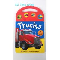Wholesale Custom Mold Toy Trucks Baby Sound Books for Indoor Kid's Eductational Learning from china suppliers