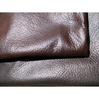 Wholesale Real Brown Recycled Leather Fabric Genuine Leather Upholstery Fabric from china suppliers