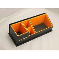 Wholesale 3mm Clear Simple Acrylic Office Stationery Holder With Notes Box from china suppliers