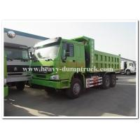 Quality HOWO  336 hp new condition diesel fuel type dump truck with Q345 Steel heavy tipper for sale