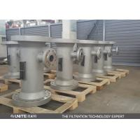 Wholesale CE PTFE lining Static inline mixer for corrosive liquid mixing from china suppliers