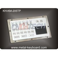 Wholesale Dust - Proof Panel Mount Keyboard with Stainless Steel Material for Info - Kiosk from china suppliers