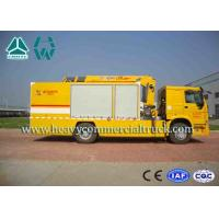 Wholesale Yellow Large Flow Drainage rescure truck With Anti Slip Handrails HOWO from china suppliers