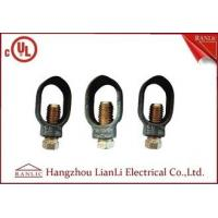 """Wholesale 3/8"""" 1/2"""" Ground Rod Clamp Brass Electrical Wiring Accessories Customized from china suppliers"""