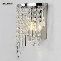 Wholesale Modern Crystal led Wall Light home lighting sconce arandela de parede bedroom bathroom mirror wall lights for home free from china suppliers