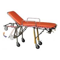 Wholesale Stainless Steel Automatic Loading Foldable Transport Stretchers for Ambulances from china suppliers