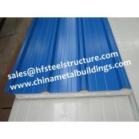Wholesale EPS Sandwich Cold Room Panel Width 950mm Used For Wall and Roof Decoration from china suppliers