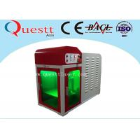 Wholesale High Precision Mini Laser Engraving Machine , Desktop Engraving Machine With PC Control from china suppliers