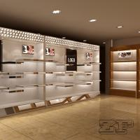Wholesale Customized shoe store decoration/shoe store fixtures with logo from china suppliers