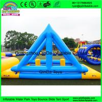 Quality New Giant Inflatable Water Park Games With TUV Certificate / Inflatable Wipeout Course For Sale for sale