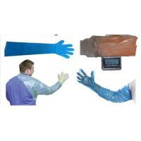 Wholesale PE Disposable Veterinary Gloves With Long Sleeves For Animal Insemination 90-120cm from china suppliers