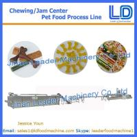 Wholesale Chewing/jam center pet food production line,Pet food processing line from china suppliers