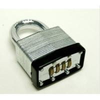 Wholesale 4 digit laminated combination padlock from china suppliers