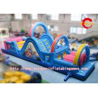 Wholesale Playground Inflatable Obstacle Course Kids Funny Game Inflatable Wipeout Game from china suppliers
