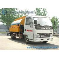 Wholesale YUEJIN 2 Axles Asphalt Tank Trailer Bitumen Asphalt distributor truck 4X2 Drive from china suppliers