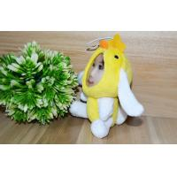 Wholesale Cute Gift 3D Face Dolls  beautiful 10CM Yellow Chick & Rabbit  Photo Mask toys from china suppliers