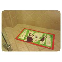 Wholesale Healthty Anti Fatigue PVC Anti Slip Bath Mat With Suction Cups , Baby Bathtub Mat from china suppliers