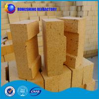Wholesale 230x114x65mm Al2O3 38- 42% fire resistant bricks High Density For Blast Furnace Glass Kiln from china suppliers