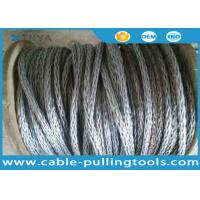 Wholesale 24mm Anti-twisting Breaking Load 360kN Braided Steel Wire Rope Overhead Line Stringing Rope from china suppliers