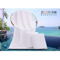 Wholesale Anti Bacterial Hotel Pool Towels / White Pool Towels OEM / ODM Available from china suppliers