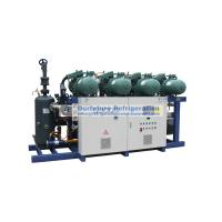 Wholesale Cold room screw compressor unit for fuit and vegetable, R404a, Bitzer compressor from china suppliers