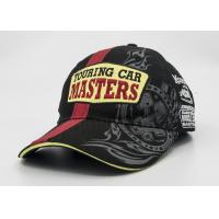 Wholesale Racing Sandwich Visor Printed Baseball Caps 100% Cotton Patch Embroidery from china suppliers