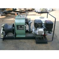Wholesale 3 Ton gasoline engine speedy capstan winch with shaft driven from china suppliers