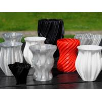 Wholesale Colorful Plastic 3D Printed Vase Rapid Prototype Multi Shaped TUV Certified from china suppliers