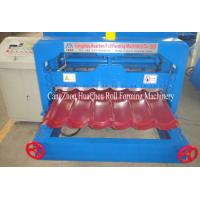 Wholesale Auto Glazed Tile Roll Forming Machine , roofing sheet forming machine PLC Control from china suppliers