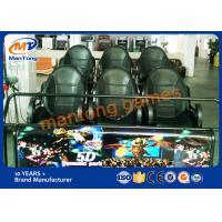 Wholesale Indoor Adventure 5d Cinema Movies Virtual Reality Motion Platform from china suppliers