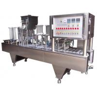 Wholesale Linear Type Keurig K-Cups Coffee Capsules Filling Sealing Machine from china suppliers